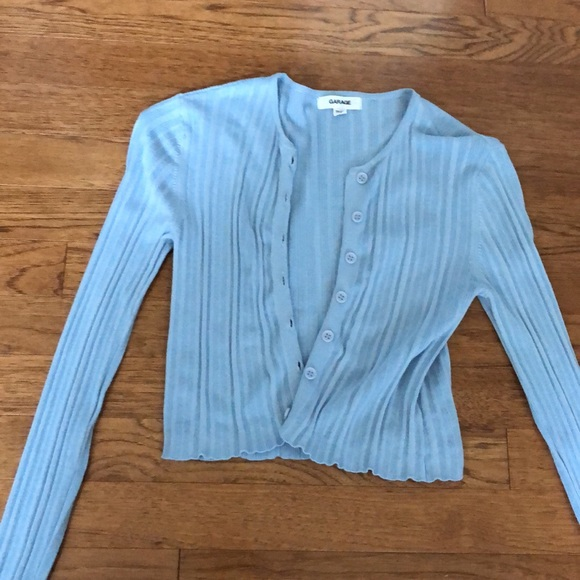 Courtney cardigan - baby blue